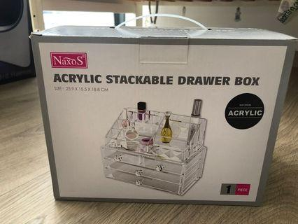 🚚 Acrylic Cosmetic Drawer Box