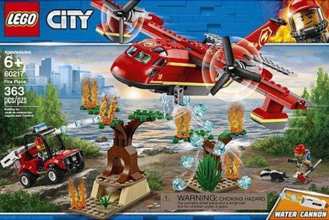 LEGO City 60217 Fire Plane 消防飛機