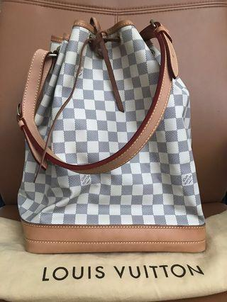 100% Authentic Preloved Louis Vuitton Damier Azur Noe