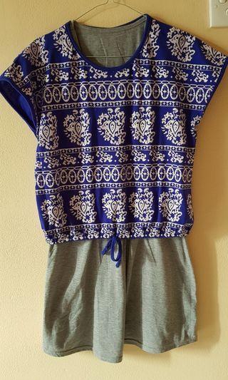 Dress batik lucu