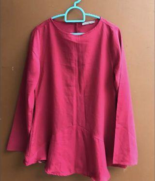 Pop look Pink Blouse S size