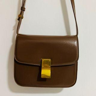 Brown Mini Sling Bag