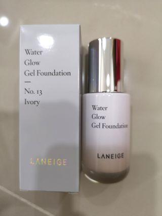 Laneige Water Glow Gel Foundation, Shade Ivory