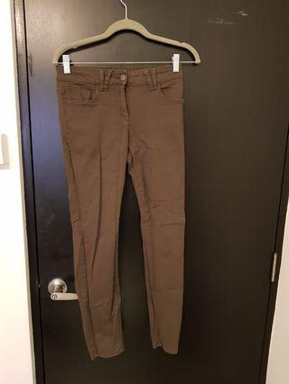 Marks& spencer Olive green jeggings