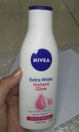 #BAPAU Nivea Body Lotion Extra White Instant Glow