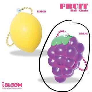 Silly Squishies x iBloom grape squishy