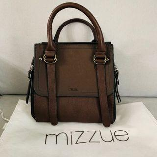 Mini Brown Leather Hand Bag