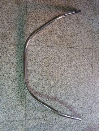 Chrome Long Horn Bar