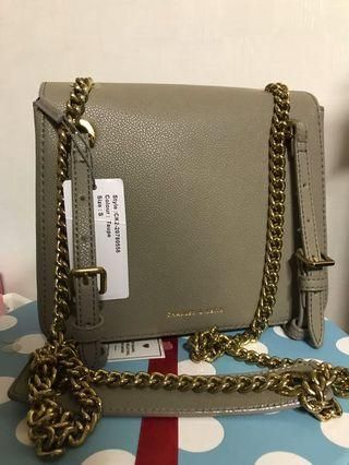 SLING BAG TAUPE COLOUR