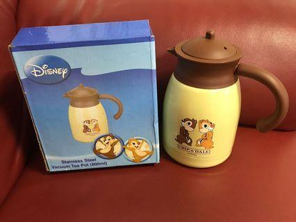 Chip n dale 大鼻 鋼牙 茶壺 水壺 有茶隔 Disney 迪士尼