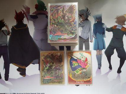 Buddyfight dragonblood sect deck