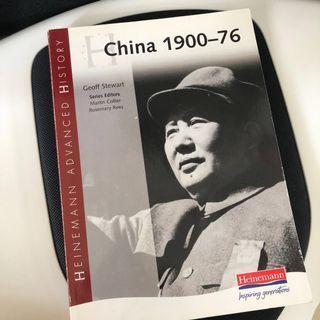 IB History China Textbook