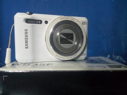 Compaq Camera Samsung WB35F (WHITE)