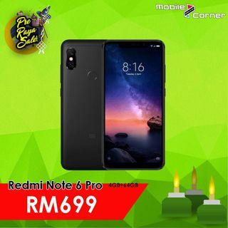 Xiaomi Redmi Note 6 Pro [64GB + 4GB RAM] Global