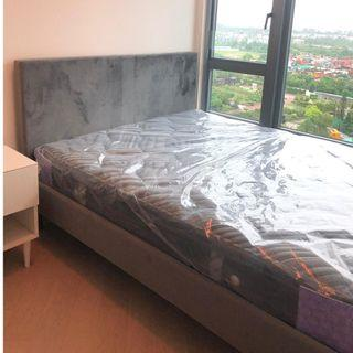 [New] FrancFranc Solid Wood Bed w/o mattress (4.5' double)