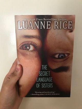 The Secret Language of Sisters by Luanne Rice