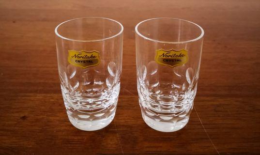 Noritake Crystal shot glass 2