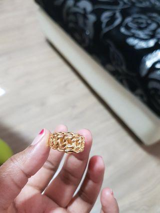 24k Coco ring
