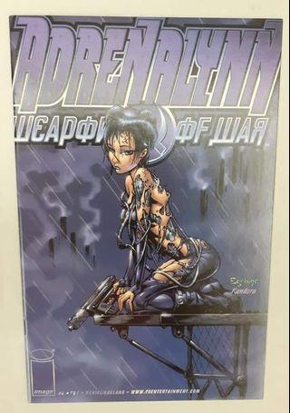 Adrenalynn: Weapon Of War #2 ( Marty Egeland - Cover Art )