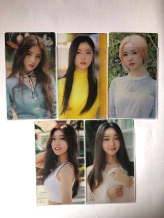 loona cinema theory photocard set