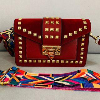 Red Chic Sling Bag