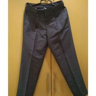 Casual black grey pant trouser for office work