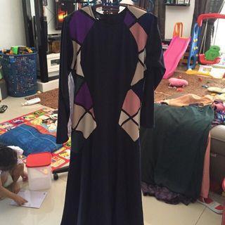 Riaz anggun dress size L (cutting kecil)