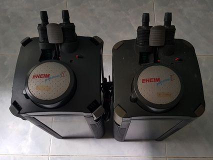 Eheim Pro2 2028, 2x with free sealing rings
