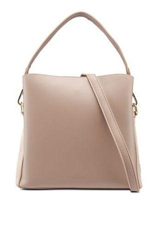 Vincci Two Straps bag in Nude