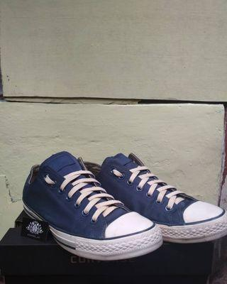 Converse All Star Navy CTAS Ox Trainers #mauvivo