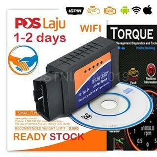 **OFFER** NEW ELM327 OBD2 Wifi  Diagnostic Scanner Tool Adapter