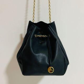 Long Leather Sling Bag