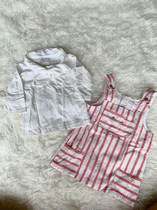 sets atasan + jumper