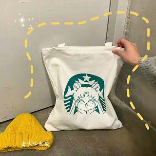SAILOR MOON X STARBUCK TOTE BAG