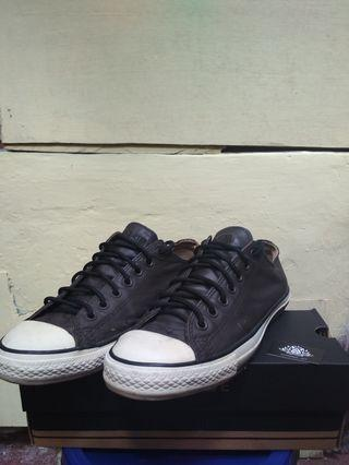 Converse John Varvatos Low Black Leather #mauvivo