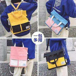 LEASURE TOTE BAG 2IN1 SAKU DUA