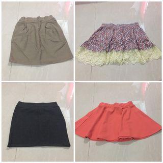 FREEPOS WM 4 Mini skirts for one price