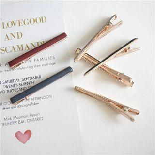 Simple and Elegant alligator hair clips