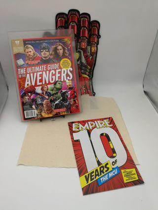"""[復仇者聯盟•終局之戰]THE ULTIMATE GUIDE TO AVENGERS + Empire magazine '10 YEARS OF MCU"""""""