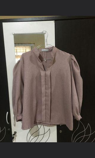 #BAPAU Blouse mayoutfit nude