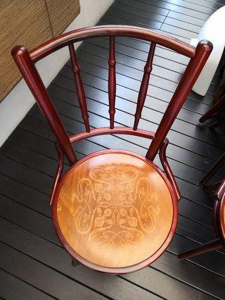 🚚 Coffee shop kopitiam chairs