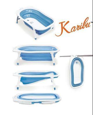 Karibu Baby Foldable Bath Tub, Tub Mudah Alih for Baby