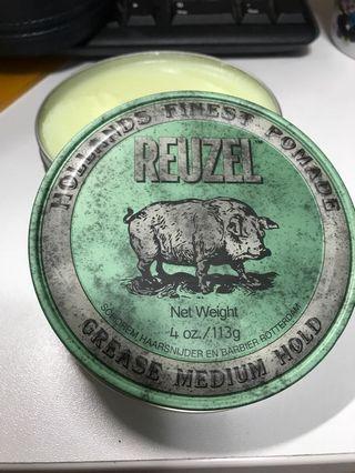 (包郵)Reuzel 荷蘭豬 綠蓋 髮油