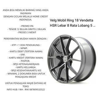 Velg + Ban Ring 15 s/d 22