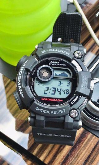 🔥🔥🔥 LAST SPECIAL OFFER!!! Nett price. Preowned Casio G-Shock Sapphire Frogman GWF-D1000-1DR. Sapphire glass Edition. GwgD1000, gwg1000b, gwgD1000k. #EndGameYourExcess.