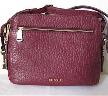 Fossil Crossbody Piper Toaster Wine