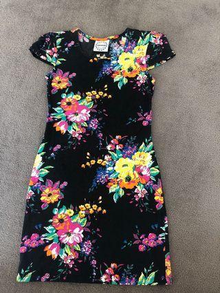 Fairground mini dress