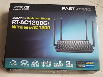 Asus dual band gigabit router wireless AC 1200