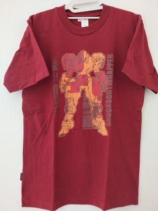 Kaos Merah Robot Keren Preloved #BAPAU