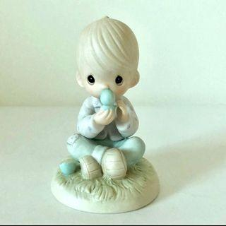 Precious Moments Figurines • I Believe In Miracles • Reintroduce